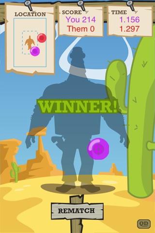Screenshot i Quick Draw Cowboy Gunfight by Acme