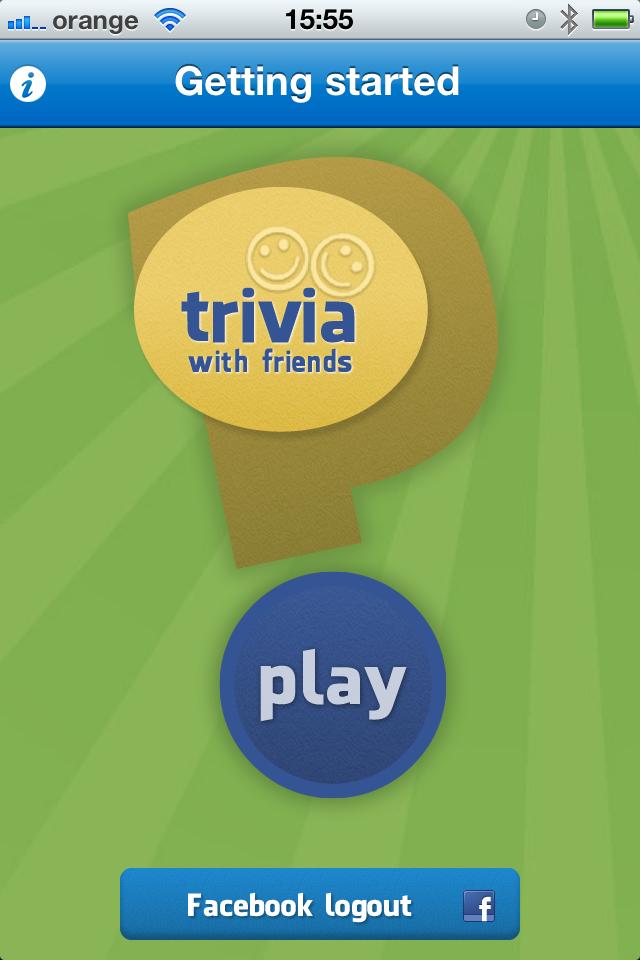 Screenshot Trivia withFriends
