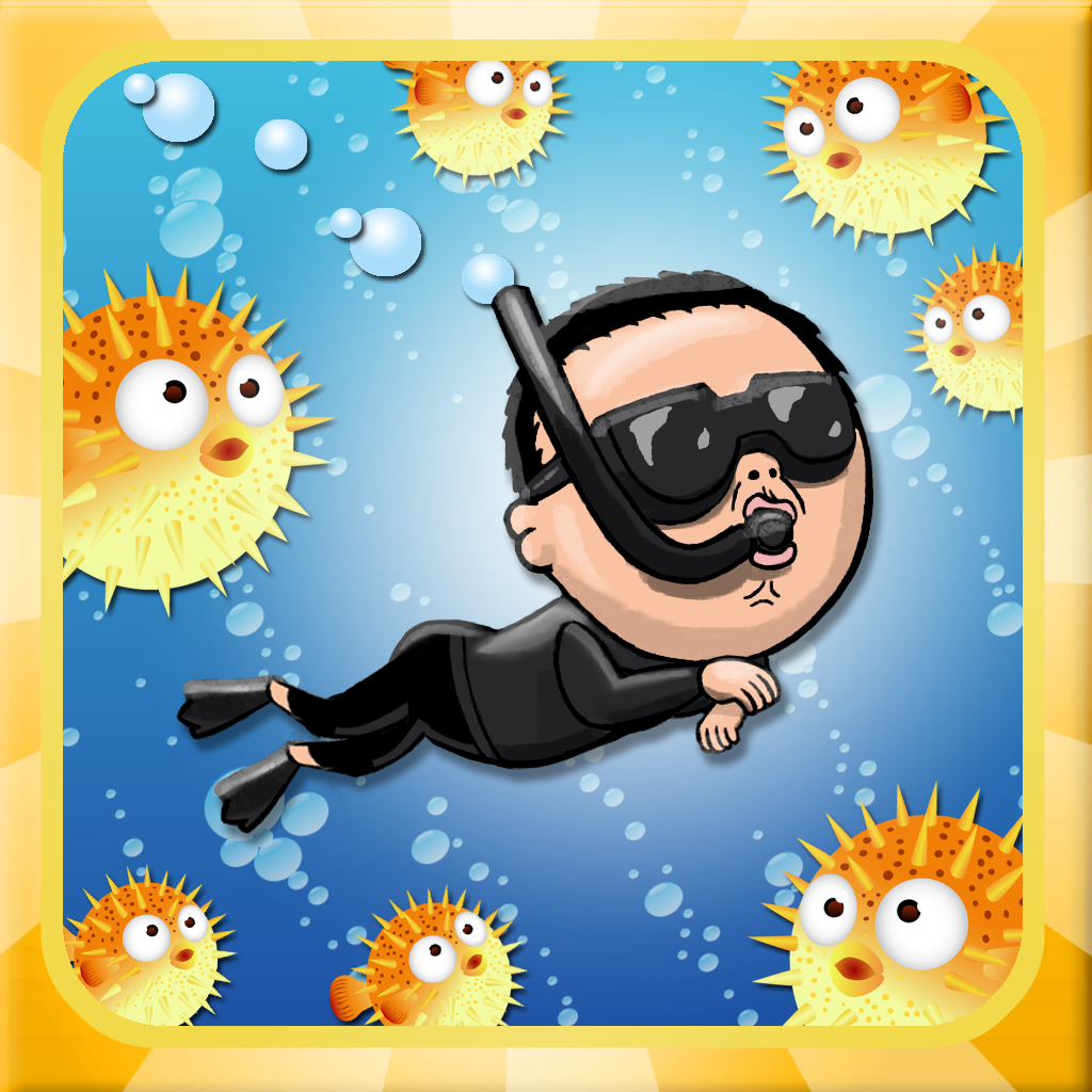 A Gangnam Dive - Free Diving Game